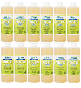 12 Pack Noble Arctic Ice Machine Cleaner Nickel Safe 16 Oz Ready To Use Case New