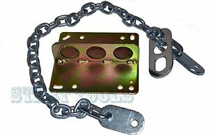 Engine Motor Lifting Hoist Remove Plate Engine Lifting Chains Sling 36 X 8mm