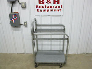 Mobile Bakery Bulk 18 X 26 Full Size Sheet Stack Pan Rack Cart