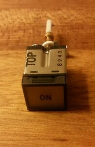 New Avionics On Toggle Switch Mfr 08719 10648bx3 119 Bosch Rexroth Aviation