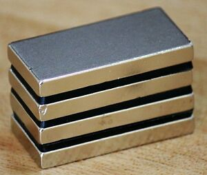 4 8 12 16pcs N50 40mm X 20mm X 5mm 40x20x5mm Neodymium Permanent Magnets