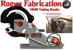Tubing Bender W 1 25x4 5 Radius Die Set And Tube Notcher