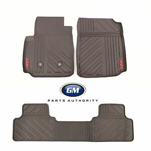 2015 2020 Gmc Canyon Crew Cab Premium All Weather Front Rear Floor Mats Cocoa