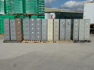5 drawer Steel Filing Cabinet Most Have Hanging Files In Them Your Choice