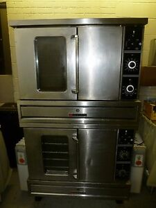 Commercial Convection Double Deck Oven 3 Phase Electric