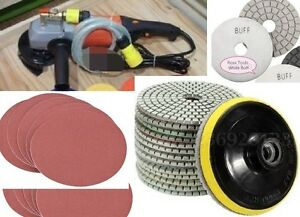 Wet Polisher Diamond Polishing Pad Granite Concrete Also A Wood Metal Grinder