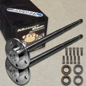 M Grip Alloy Axle Shaft Kit 1541h Mustang 31 Spline Ford 8 8 5 Lug