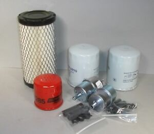 Kubota Bx Filter Maintenance Kit Bx25 Hst 6 Filters