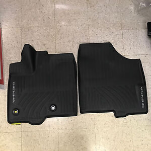 2013 2017 Toyota Sienna 8pc Oem All Weather Floor Liners Mats Pt908 08170 02