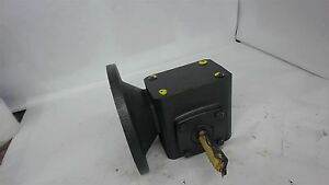 Baldor M35c 81001935 Mgr01313004 Right Angle Gearbox 0 521 Input Hp 15 1 Ratio
