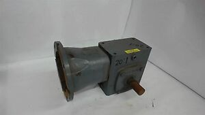 Boston Gear Rf721 20 35 1 Right Angle Gearbox Input Hp 1 250 20 1 Ratio