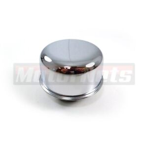 Chrome Oil Breather New Fits Aluminum Valve Covers With Twist On In Cap