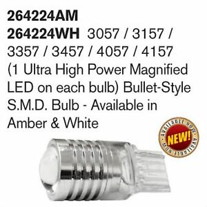 Recon 264224wh 3057 3157 4057 4157 1 Bulb White Bulb Led