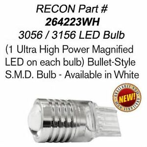 Recon 264223wh 3056 3156 High Power Magnified White Bulb Led