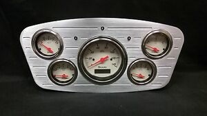 1933 1934 Ford Car 5 Gauge Dash Cluster Shark