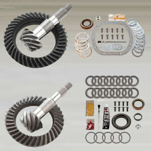 4 56 Ring And Pinion Gears Install Kit Package Dana 30 Yj Front D35 Rear