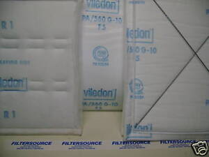 Blowtherm Prep Station 64 X120 Set Of 2 Ceiling Filter Viledon Pa560 G10