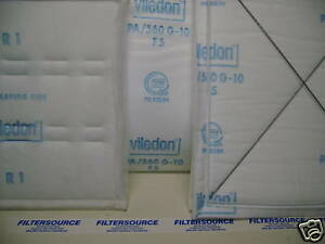 Blowtherm Gfs Paint Booth 21 x 36 set Of 2 Ceiling Filter Viledon Pa560 G10