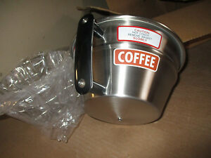 Curtis Commercial Coffee Brewing Brew Filter Basket Cone Wc 3357 Stainless new