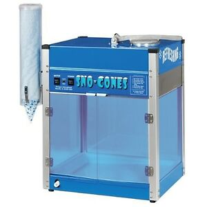 Commercial Professional Blizzard Snow Cone Machine Heavy Duty Shaved Ice Maker