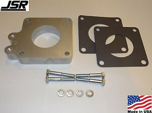 86 93 Mustang Gt Or Lx 5 0 Throttle Body Egr Spacer Delete Plate Kit 1in X 60mm