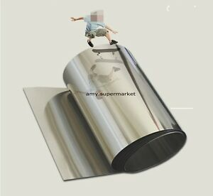 1pc 304stainless Steel Foil plate sheet Diy 0 1 200 1000mm High Quality