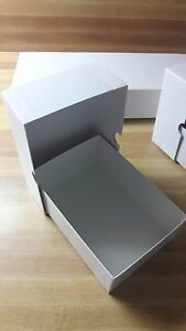 75 Medium Rigid Business Card Boxes fits 600 Use As Xmas Gift Boxes