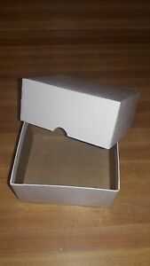 75 Small Rigid Business Card Boxes fits 300 Use As Gift Boxes For Xmas
