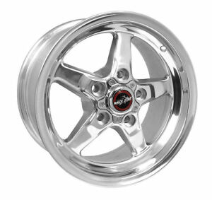 Race Star 92 Drag 15x8 00 5x4 50 19 Offset Polished Wheel Rim Ford Mustang