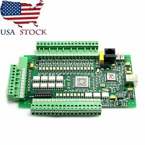 4axis Usb Cnc Mach3 Stepper Motor Controller Card Breakout Board Interface In Us