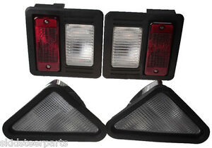 Bobcat Skid Steer Exterior Head Tail Light Kit For 863 873 883 963