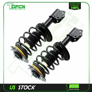 For 2000 2012 Chevrolet Impala Front Quick Struts Coil Springs W Mounts Pair