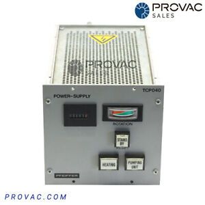 Pfeiffer Tcp 040 Turbo Pump Controller Rebuilt By Provac Sales Inc