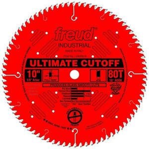 Freud Tools Lu85r010 10 Ultimate Cut off Saw Blade