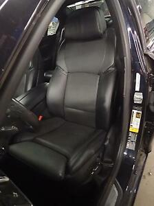 11 12 Bmw 750i Left Front Driver Comfort Cooled Seat Leather Black Nasw