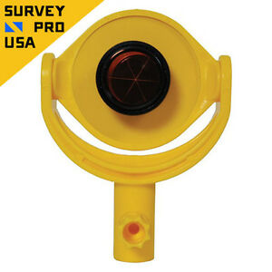 New Seco Small Tilting 25 Mm Mini Prism Total Station Monitoring Survey