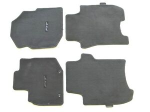 09 10 11 12 13 14 Honda Fit Black Carpet Floor Mats Rugs Liners Oem Used Set 2