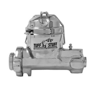 Tuff Stuff Brake Master Cylinder 2150na Chrome 1 000 Bore Single Reservoir