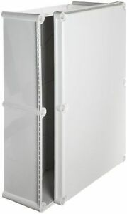 Bud Industries Nbd 15456 Style D Plastic Outdoor Box With Solid Door 22 5 64