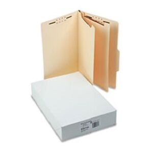 Sj Paper Economy Classification Folders Legal Size 6 Fasteners Manila