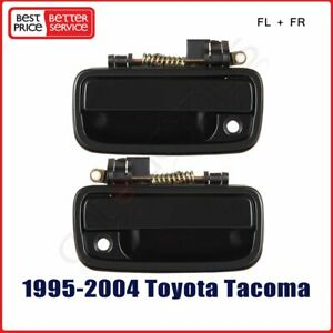 For Toyota Tacoma 95 04 Front Outside Outer Door Handle Pair 69220 69210 35020