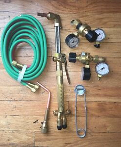 Harris Model 85 Handle Hose Torch Regulators New Never Used See Pictures