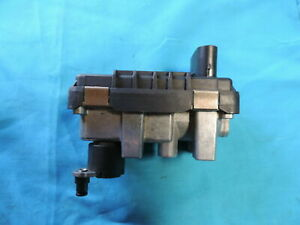 2006 Volkswagen Touareg Left Side Turbo Genuine Electronic Wastegate Actuator