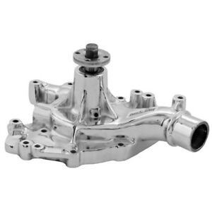 Tuff Stuff Water Pump 1470na Mechanical Chrome Cast Iron For Ford 429 460 Bbf