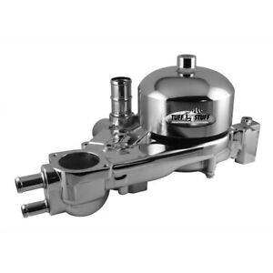 Tuff Stuff Water Pump 1310a Mechanical Chrome Aluminum For Chevy Ls1 Ls6