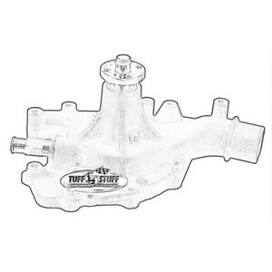 Tuff Stuff Water Pump 1470ncblue Mechanical Blue Cast Iron For Ford 429 460 Bbf