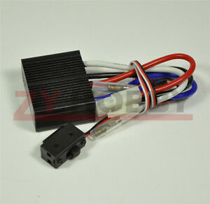 24v Two way Electronic Brush Esc With Brake Stepless Speed Governor For Rc Model