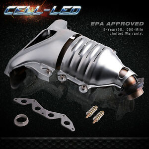 For 01 To 05 Honda Civic 1 7l Manifold Catalytic Converter W Gasket Epa Approved