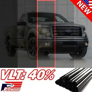 2017 Vlt 40 20 X 60 5ft Office Home Car Glass Uncut Roll Tint Window Film P1