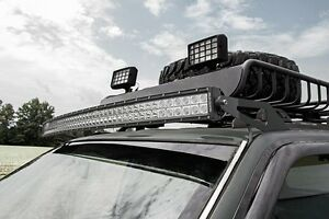 50 Curved Led Windshield Mounts Only For Jeep Grand Cherokee Zj 1993 1998